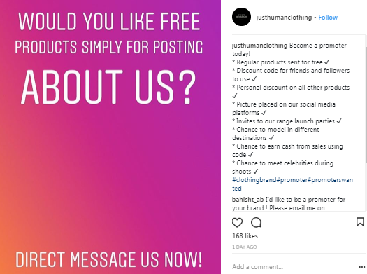 Promoting products on instagram is a proven way on making money provided that you've established yourself as an authority on your niche