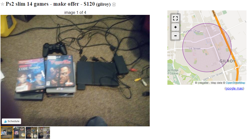 You can find items on Craigslist selling for rush prices.