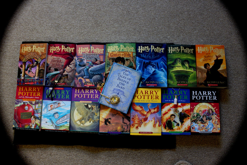 Harry Potter Books are one of the best known novels of all times