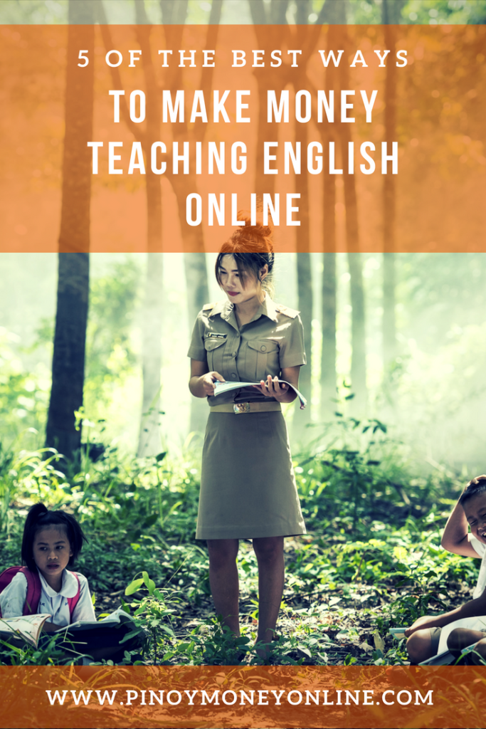 Make Money online as an english teacher