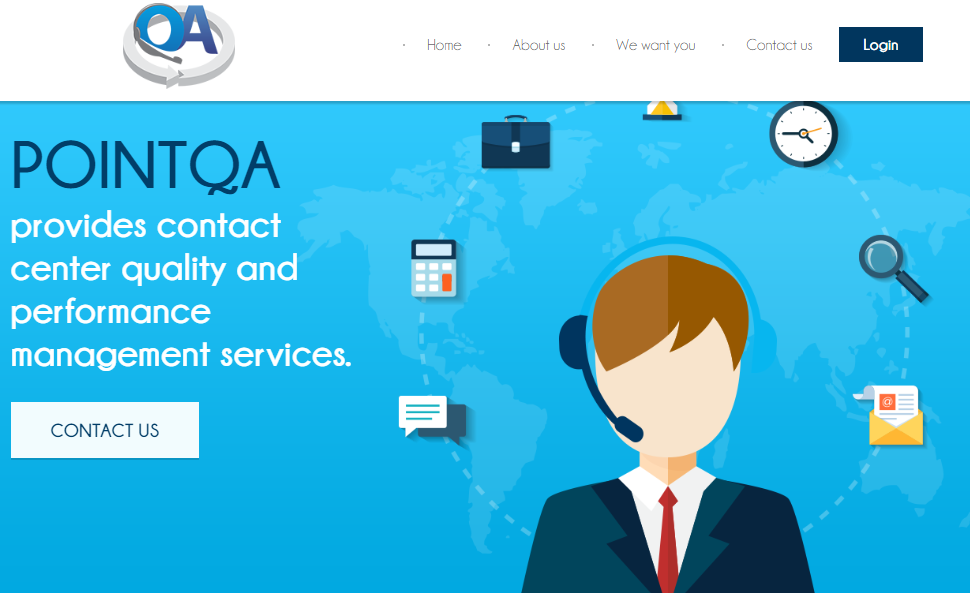 Make money online by reviewing phone call on pointqa
